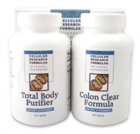 Dual Action cleanse Pack - Total Body Purifier & Colon Clear Formula